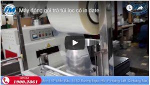 Video: Máy đóng gói trà túi lọc có in date