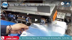 Máy hàn miệng túi liên tục SFR-980 có in date