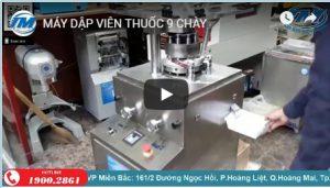 Video máy dập viên thuốc 9 chày