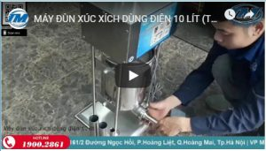Video Máy đùn xúc xích dùng điện 10 lít (TMTP-G08)